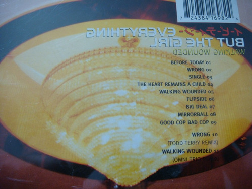 cd everything but the girl - walking wounded - 1995