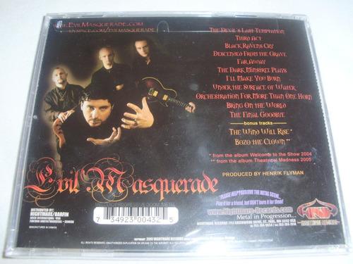 cd evil masquerade - third act ( power firewind) nuevo