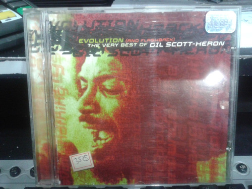 cd - evolution (and flashback) the very best-gil scott-heron