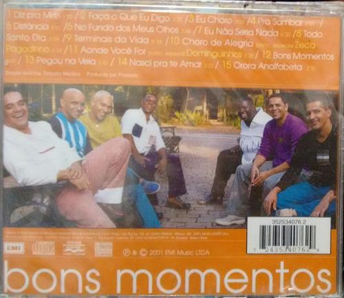 cd exaltasamba - bons momentos