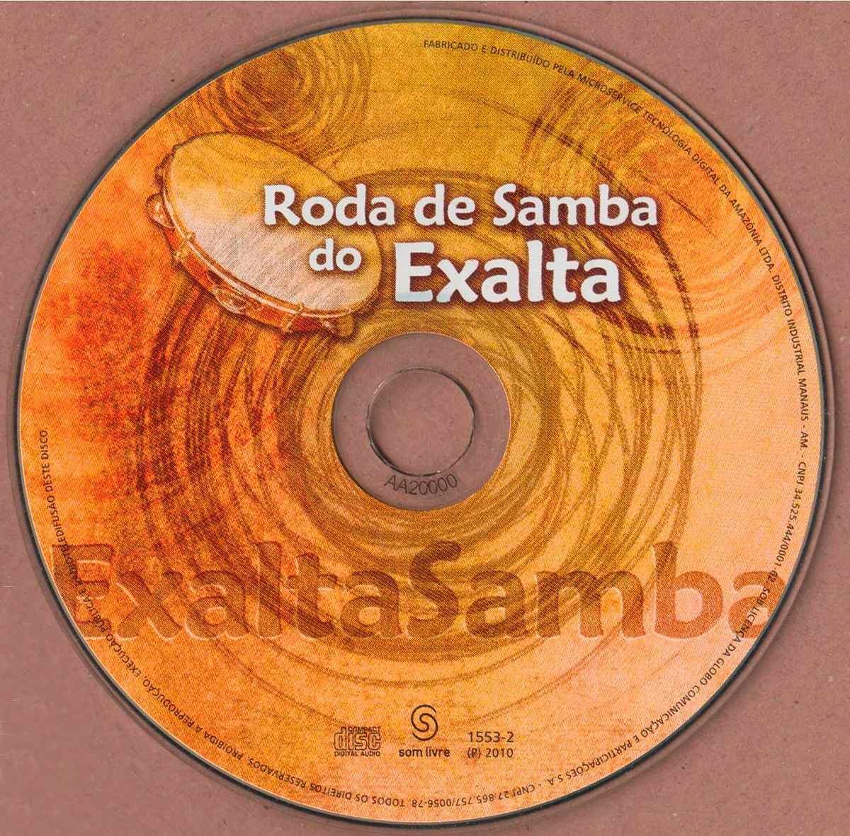 cd exaltasamba roda de samba 2010