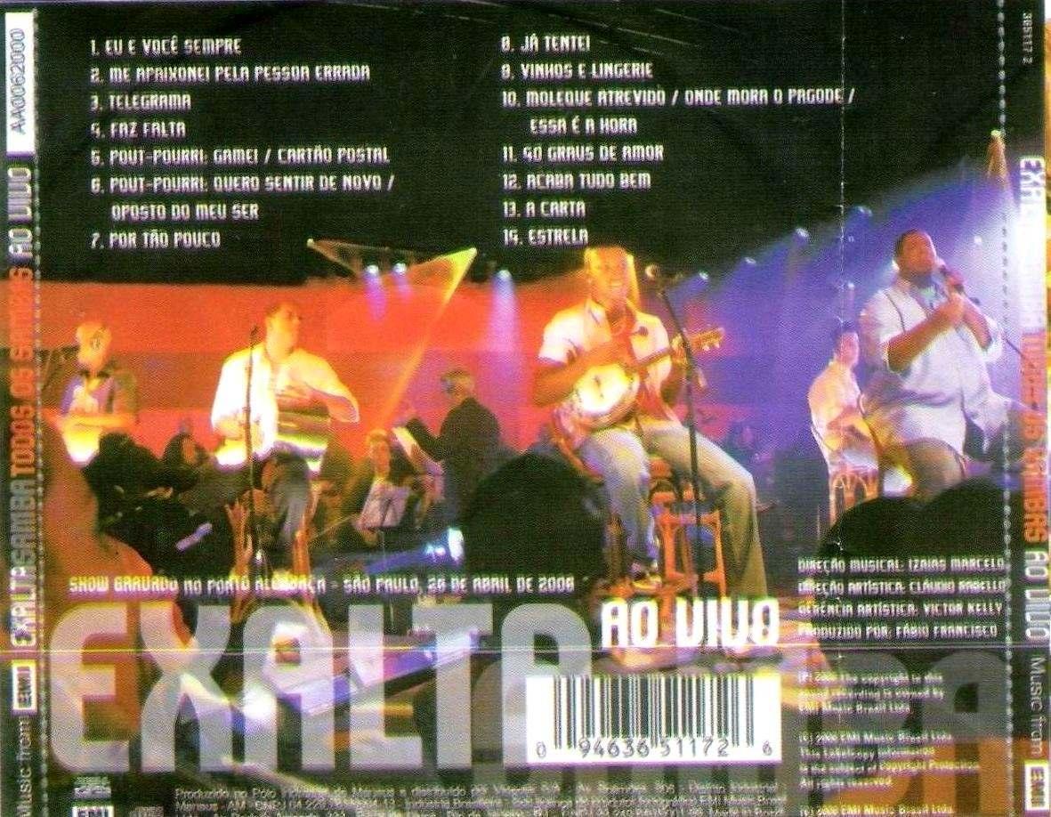 cd do exaltasamba todos os sambas