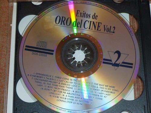 cd éxitos de oro del cine vol. 2 cd's 2 ¡envío incluido!