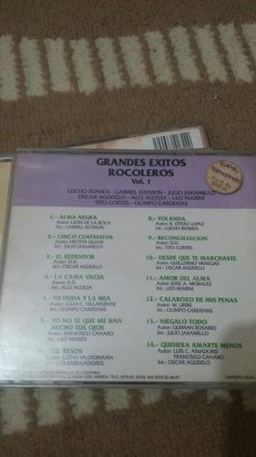 cd éxitos rockoleros