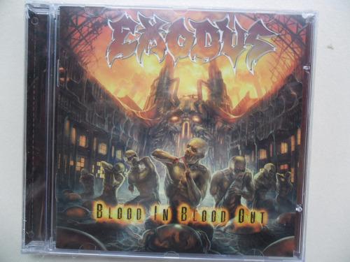 cd  exodus - blood in blood out  novo lacrado