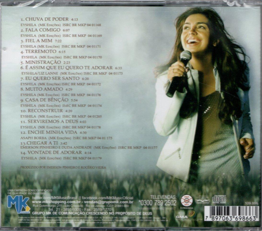 EYSHILA O BAIXAR TERREMOTO DA CD