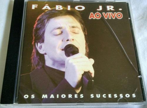 cd fábio jr. ao vivo (os maiores sucessos)