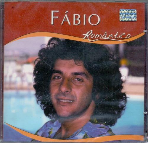 cd fábio - romântico - novo***