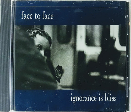 cd face to face - ignorance is bliss - imp. lacrado bar code