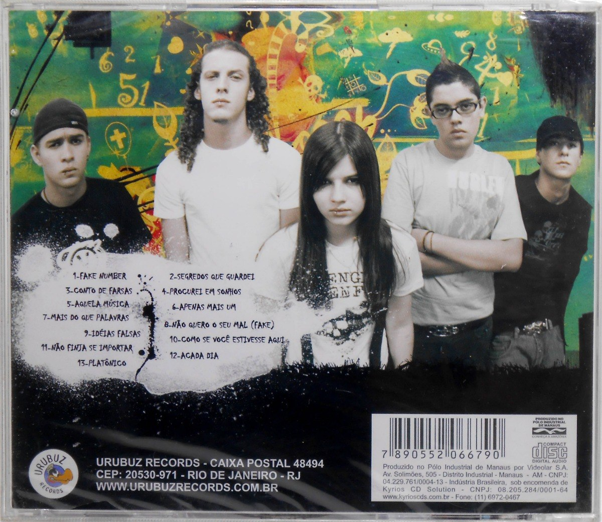 cd fake number cinco faces de um segredo