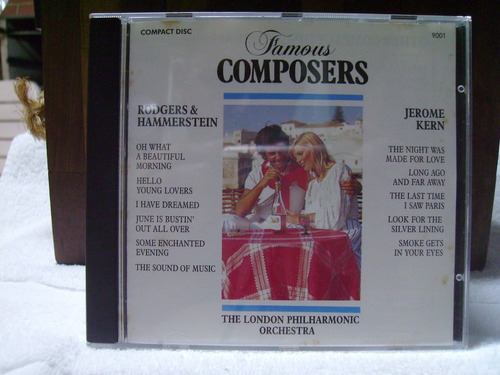 cd famous composers - rodgers & hammerstein - jerome kern