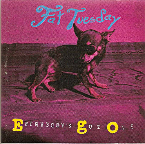cd fat tuesday - everybody' s got one - novo***