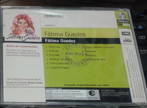 cd - fátima guedes: fátima guedes(1979)