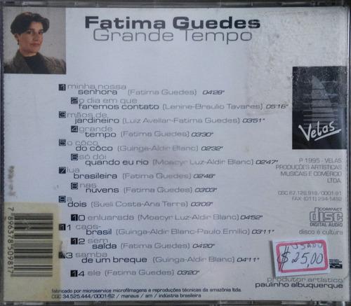 cd - fatima guedes - grande tempo
