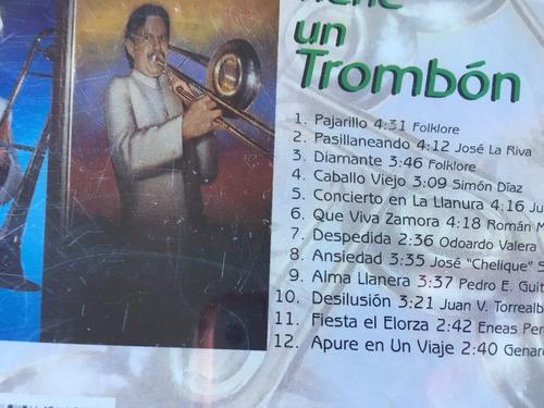 cd felix rodríguez mi llano tiene un trombón