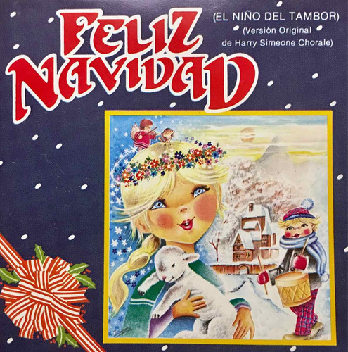 cd feliz navidad el niño del tambor navideño