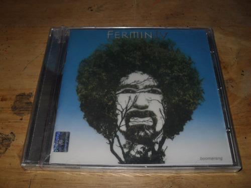 cd fermín ivboomerang cd nuevo sellado  envio gratis