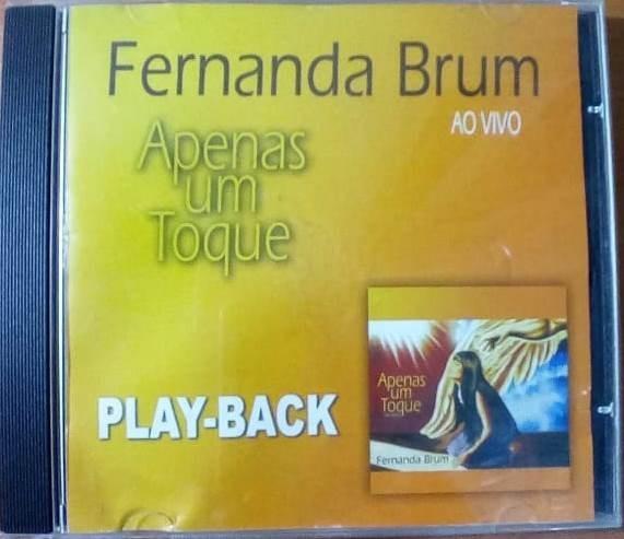 cd fernanda brum apenas um toque playback gratis