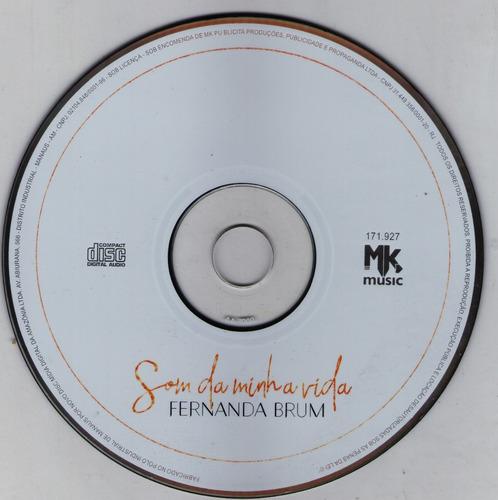cd fernanda brum - som da minha vida (lançamento) 2017