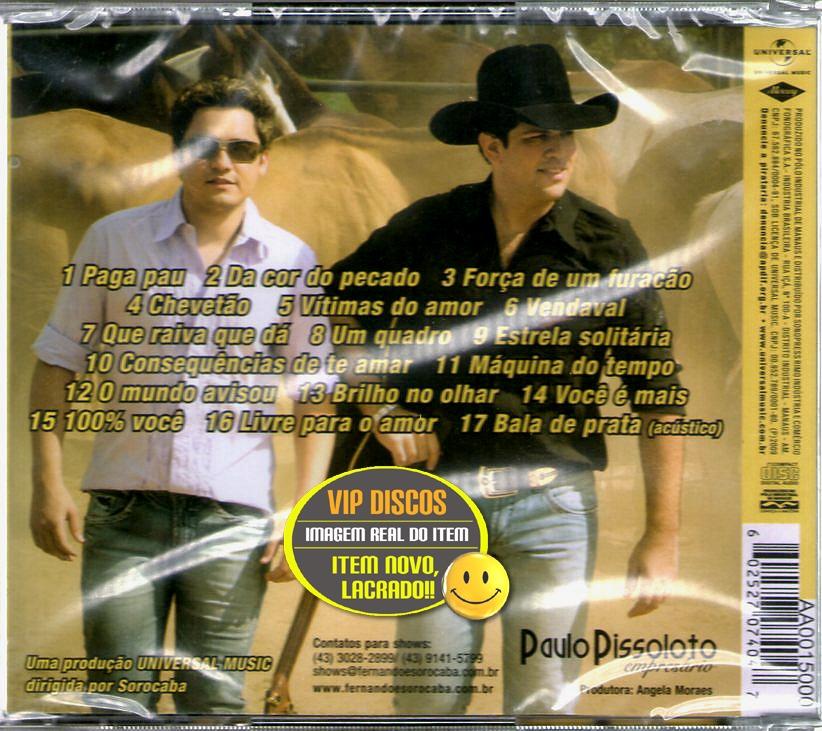 cd completo gratis fernando e sorocaba vendaval