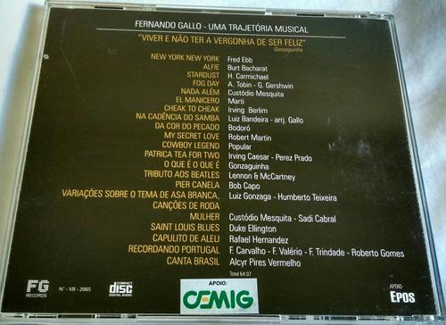 cd fernando gallo piano e orquestra, convidado especial zuza