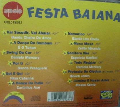 cd   festa  baiana   -  b240