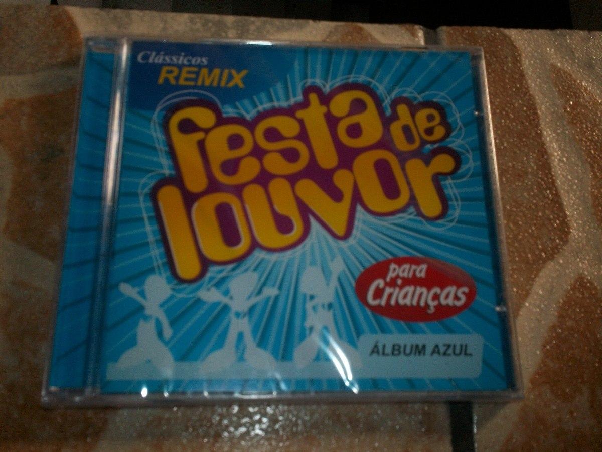 cd festa de louvor album azul