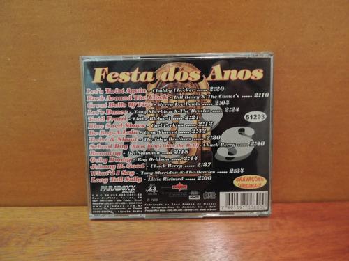 cd festa dos anos 60 - produto original 1998