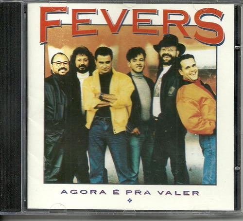 cd fevers - fevers - agora é pra valer - 1992