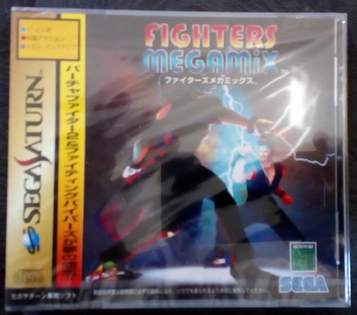 Cd Fighters Megamix Japonês Sega Saturn Lacrado Frete Grátis