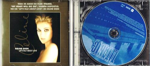 cd filme titanic (celine dion) 15faixas original sony music