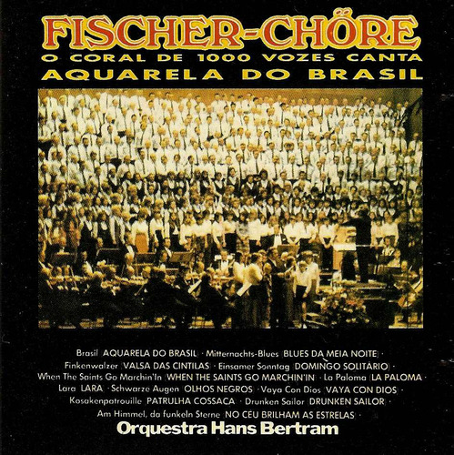 cd   fischer-chore  :  aquarela do brasil  - b108