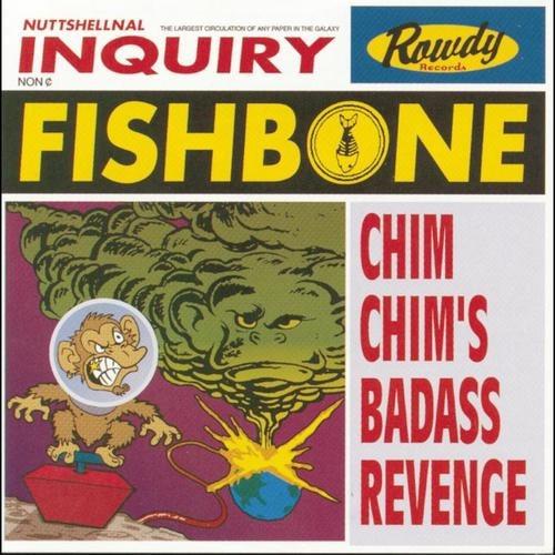 cd fishbone - chim chim's badass revenge.   edición usa.