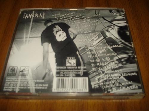 cd fiskales ad-hok / ahora (version con bonus de 3 temas)