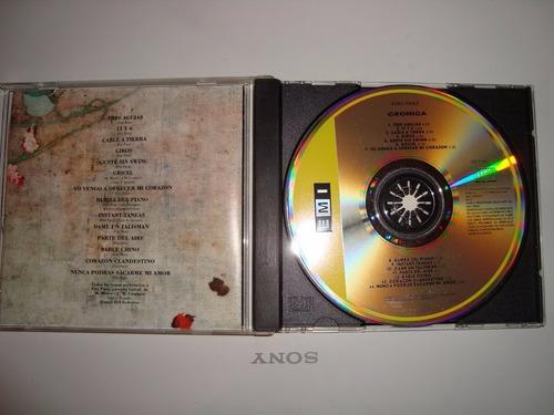 cd fito paez - cronica 1991