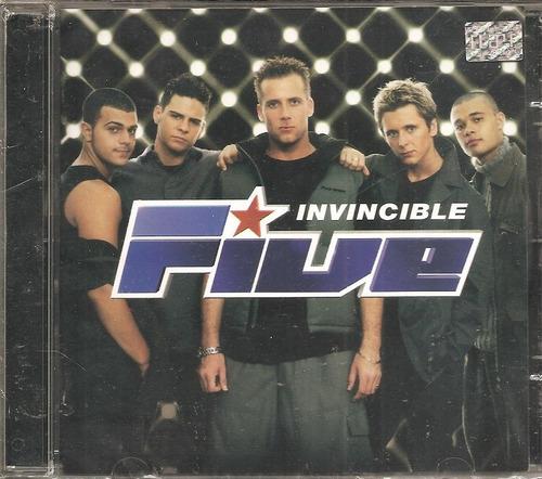 cd five - invincible