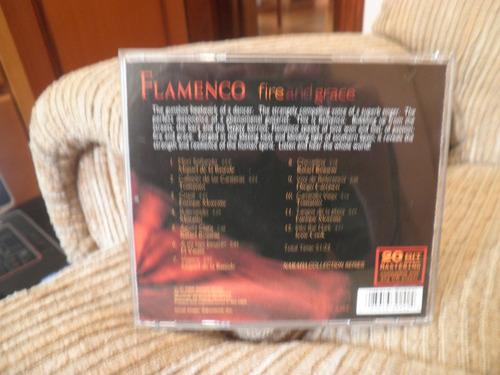 cd flamenco - fire and grace a narada collection importado