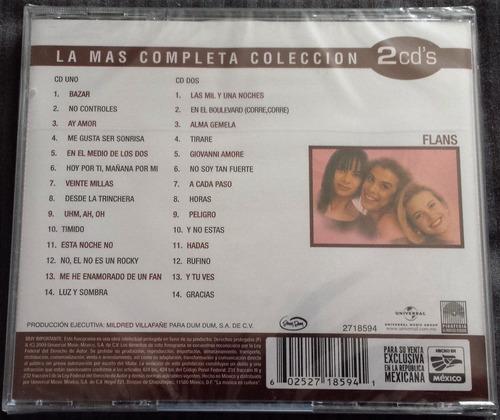 cd flans la más completa colección 28 temas 2 discos