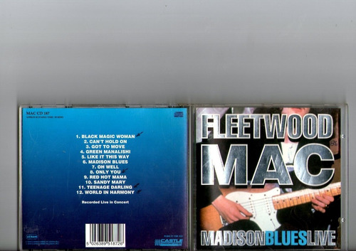 cd fleetwood mac - madison blues live