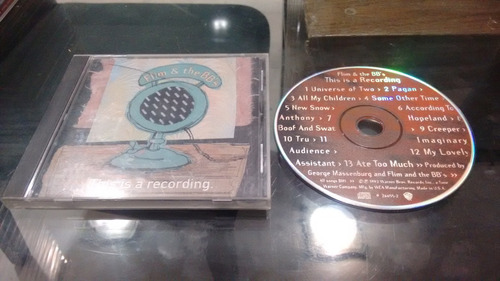 cd flim and the bbs this is a recording imp en formato cd