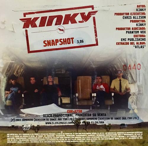 cd fobia y kinky promo usado
