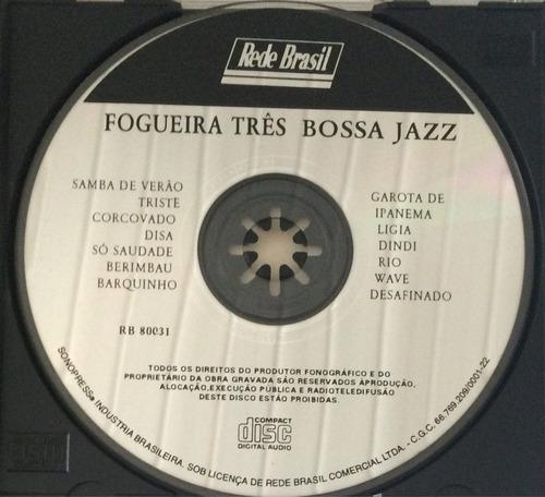 cd fogueira três bossa jazz (hbs)