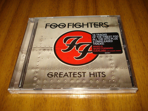 cd foo fighters / greatest hits (nuevo y sellad) made in usa