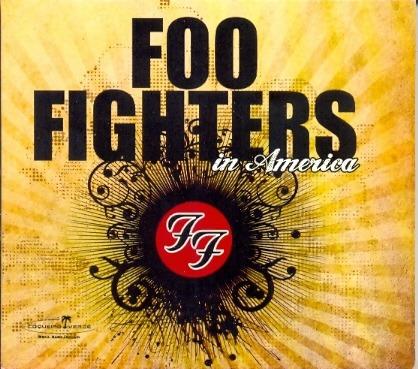 cd foo fighters - in america