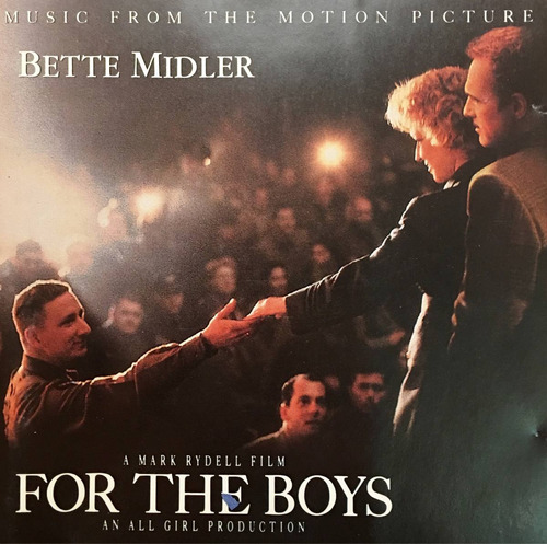 cd for the boys bette midler soundtrack seminuevo