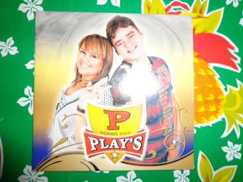 cd forró dos plays - frete grátis todo brasil