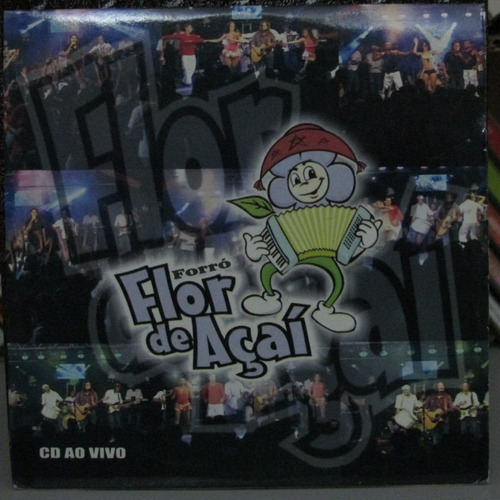 cd forró flor de açai ao vivo