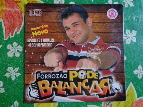 cd forrozão pode balançar - promocional - frete gratis