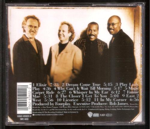 cd fourplay - elixir - importado