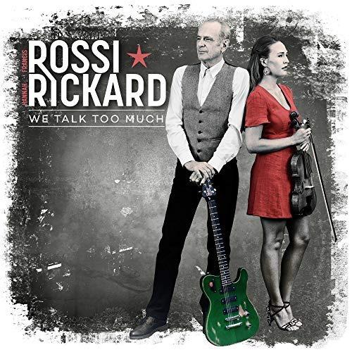 cd : francis rossi, hannah rickard - we talk too much (cd)